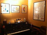 Studio Piano View 2